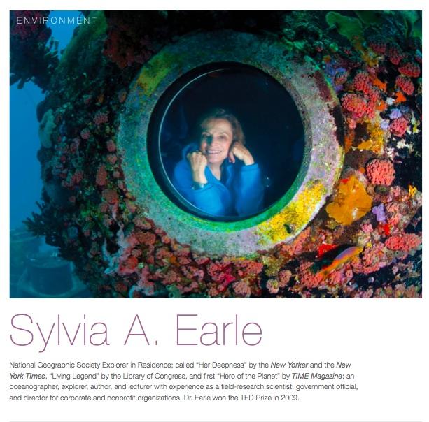 Impact Story: oceanographer Sylvia Earle