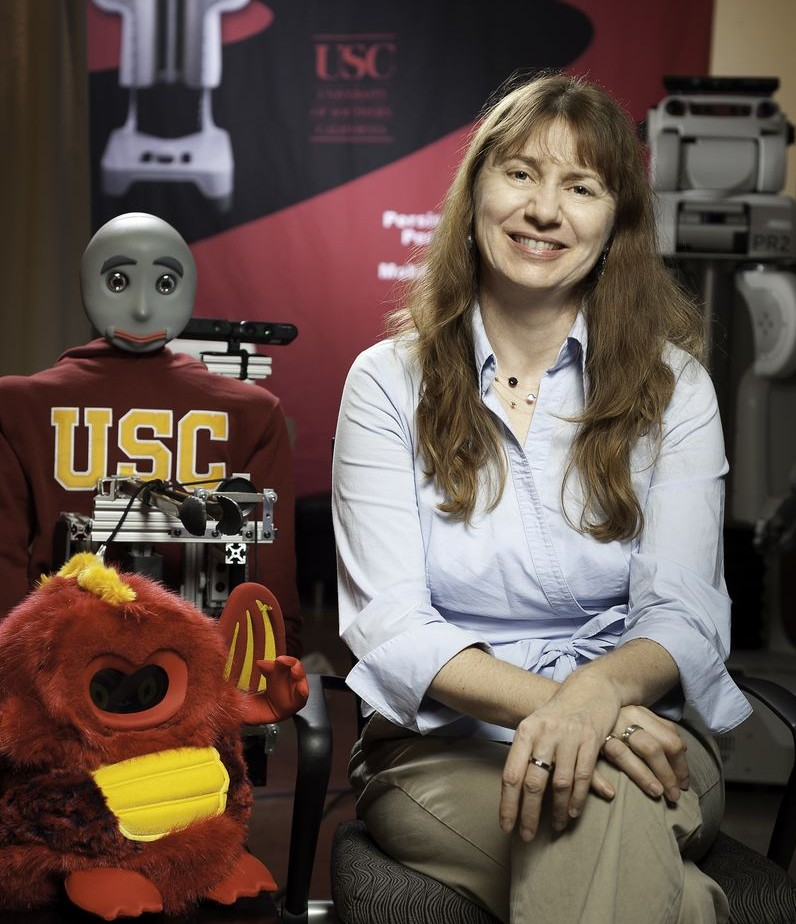 Prof. Matarić named one of the Top 10 Tech Innovators by LA Times