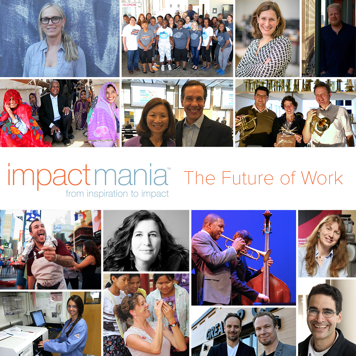 December 2016, The Future of Work, impactmania